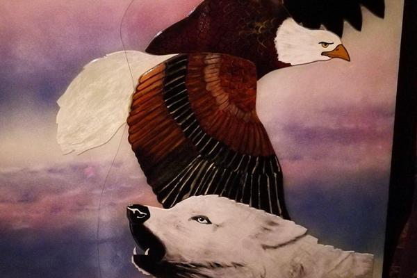 la casa del lupo e dell'aquila