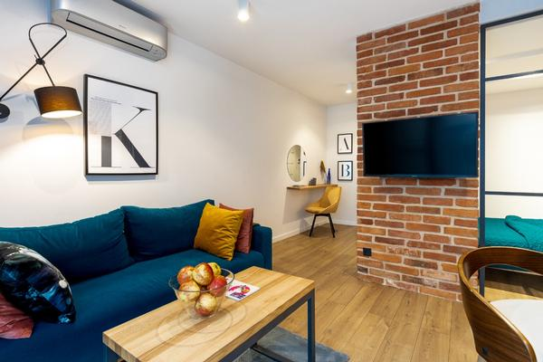 cosy loft apartment in the heart of kazimierz district in kraków