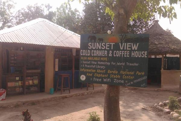 sunset view cafe & jungle bar